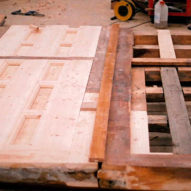 Rehabilitaci n de carpinter a de madera koto ingenieros for Carpinteria de madera