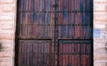 Rehabilitación de una puerta de Iglesia