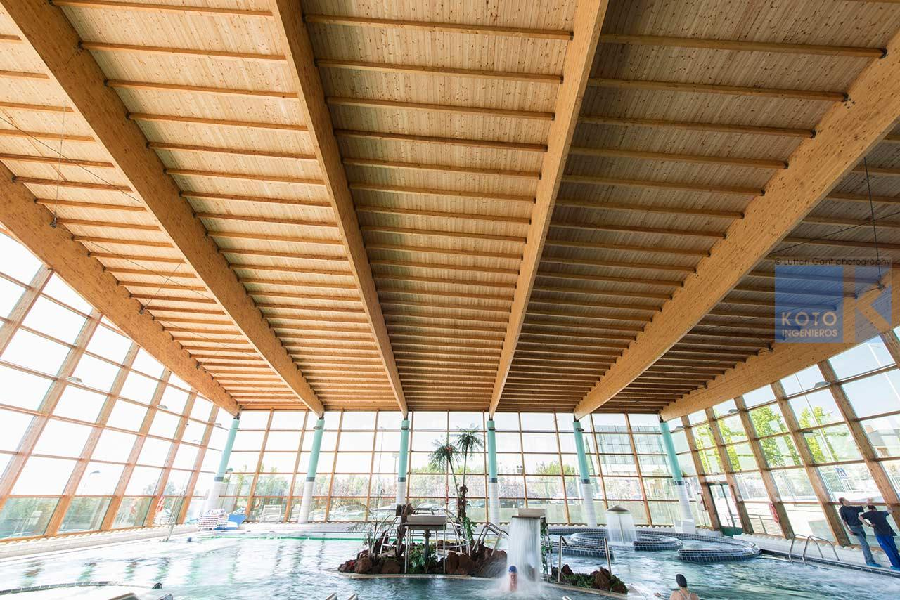 Koto ingenieros spa las rejas - Estructura madera laminada ...