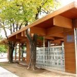 Cafetería en madera, en Palencia