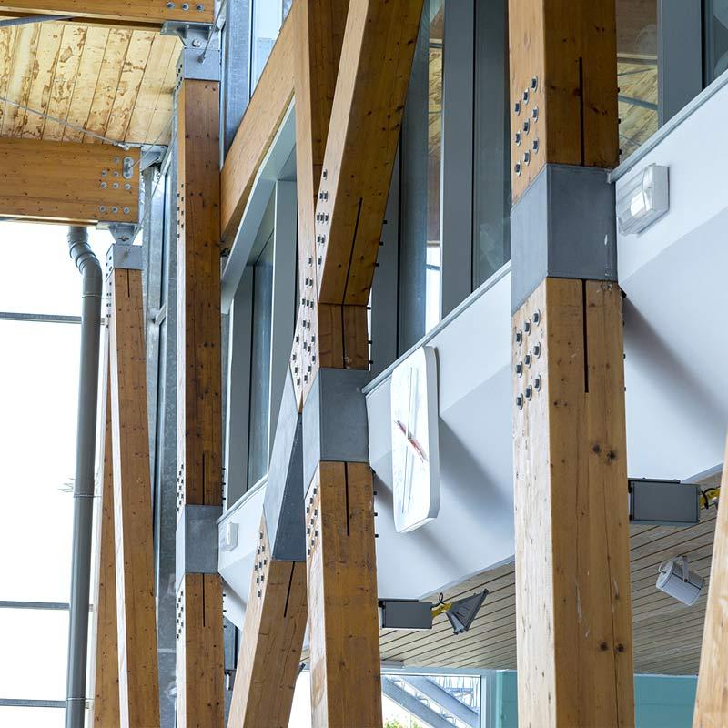 Estructuras de madera koto ingenieros - Estructuras de madera laminada ...