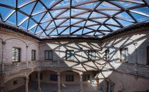 Cubierta del Palacio de Saldañuela